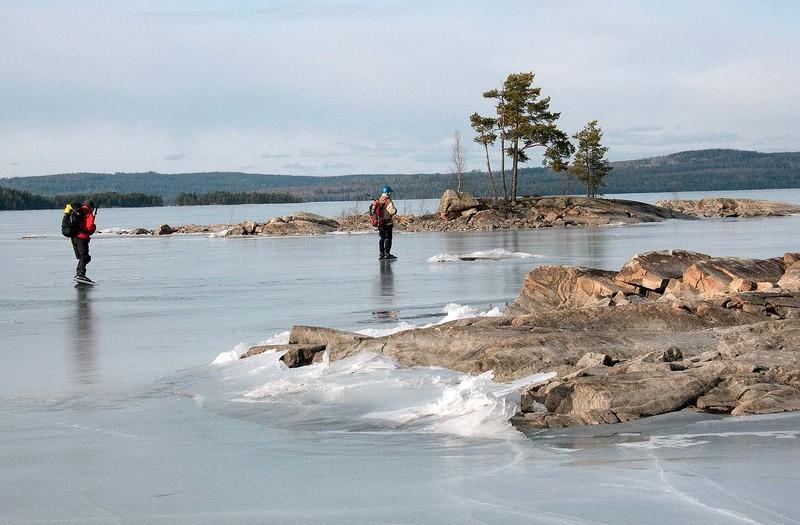 Nr: 119860 Liten skärgård på sjön Gla, foto: Sten Rundqvist